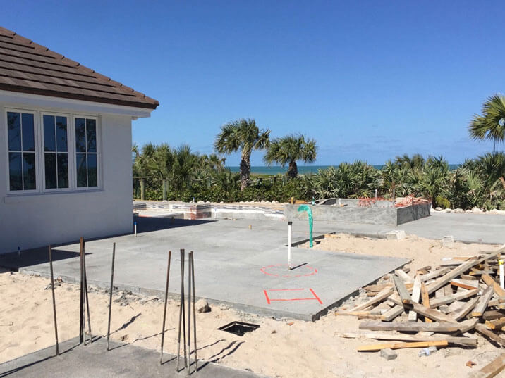 Residential Pool and Landscape Architecture Vero Beach - Before