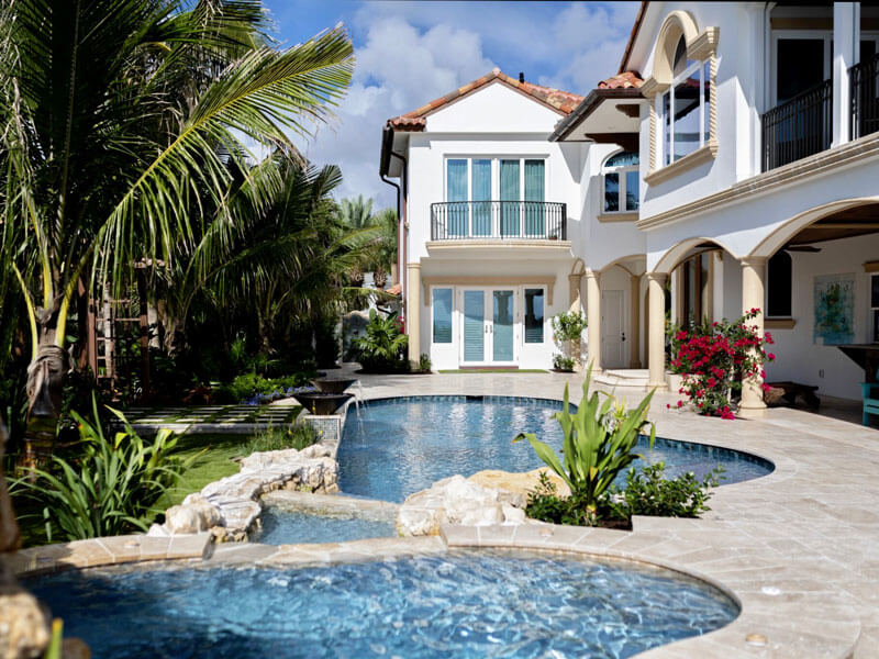 Residential Pool and Landscape Architecture Vero Beach - After