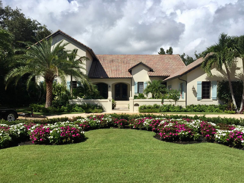 Residential Landscape Architecture Vero Beach - After